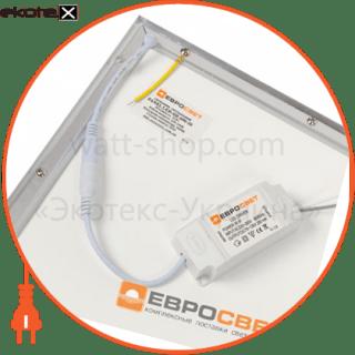 светильник panel led-sh-600-20 595*595*9мм 3000лм 4000к 36вт светодиодные светильники евросвет Евросвет 39524