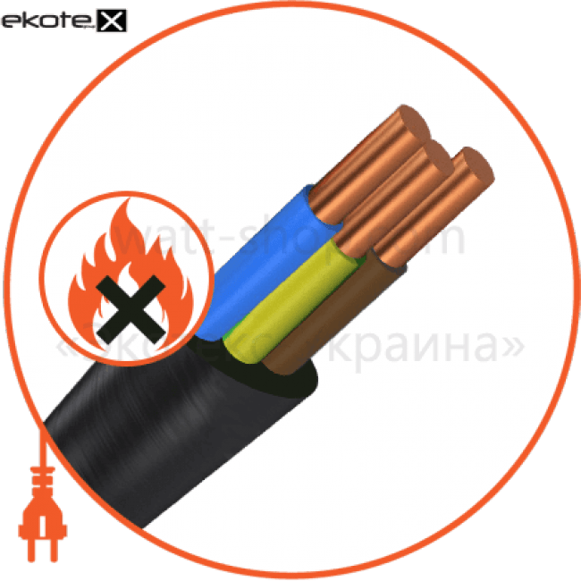 ввгнг-ls-п3х1,5 кабель и провод Азовкабель ВВГнг-LS-П3х1,5