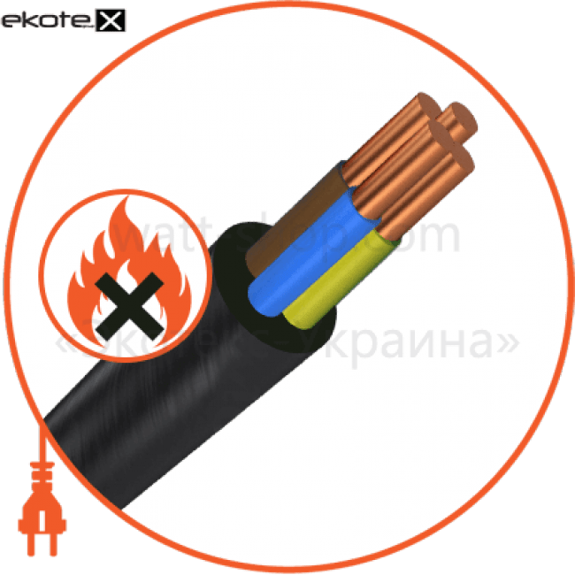 ввгнг4х4 кабель / провод Азовкабель ВВГнг4х4