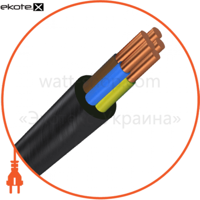 ввг5х25 кабель / провод Азовкабель ВВГ5х25