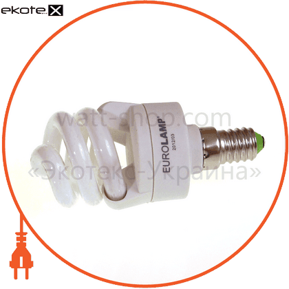 t2 spiral 8w 4100k e14 энергосберегающие лампы eurolamp Eurolamp