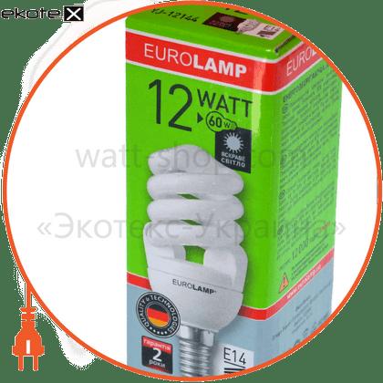 YJ-12144 Eurolamp энергосберегающие лампы eurolamp t2 spiral 12w 4100k e14