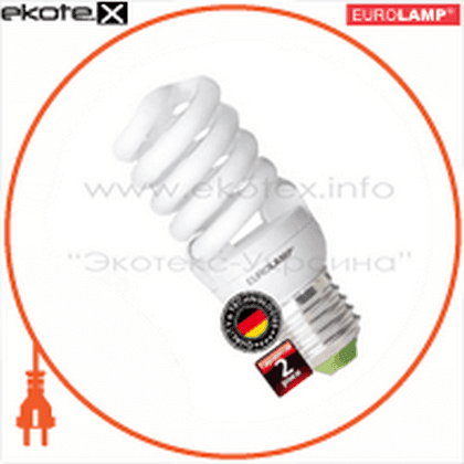 t2 spiral 12w 4100k e27 энергосберегающие лампы eurolamp Eurolamp YJ-12274