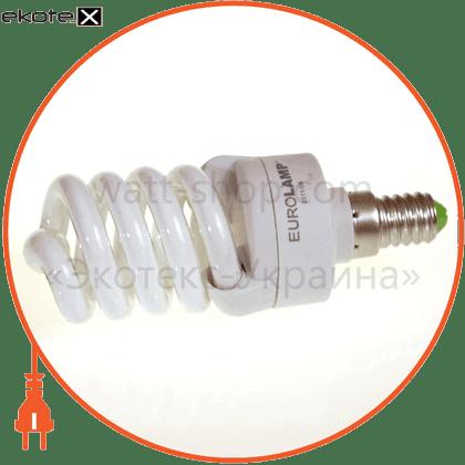 t2 spiral 16w 2700k e14 энергосберегающие лампы eurolamp Eurolamp YJ-16142