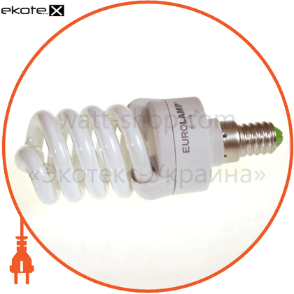 t2 spiral 16w 4100k e14 энергосберегающие лампы eurolamp Eurolamp