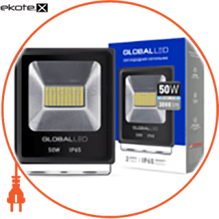 flood light 50w 5000k светодиодные светильники global Global 1-LFL-004