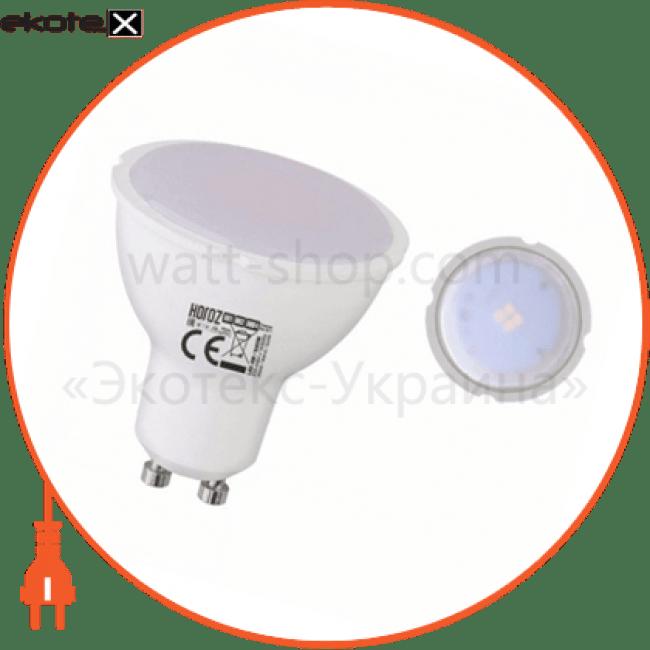 """лампа """"plus-4"""" 4w 6400k, 4200к, 3000к gu10 светодиодные лампы horoz eelectric Horoz Eelectric 001-002-0004"""