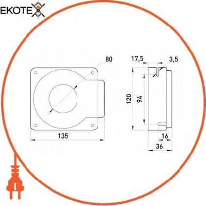 Enext i0640003 измерительная катушка e.trans.cur.kct.80s для реле типа klr, 630/3