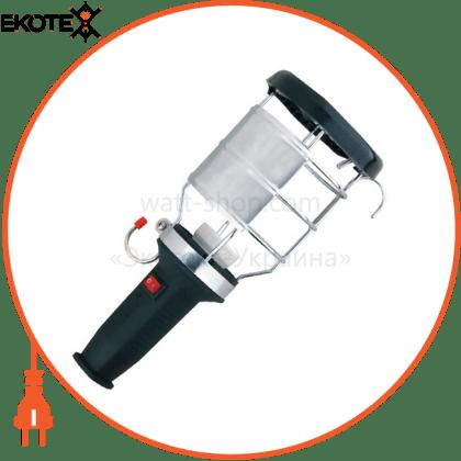 Lezard 106-0400-0106 переносной светильник с ручкой из каучука с выключателем, ip44 106-0400-0106 2p+pe, 1*16a, 220-240v (каучук)