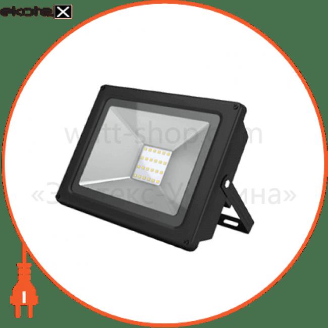 прожектор светодиодный solo sl-20-43 20w 6500к 26-0012 светодиодные светильники electrum ELM 26-0012