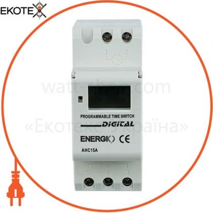 ENERGIO 70103 таймер energio ahc15a недельный электронный