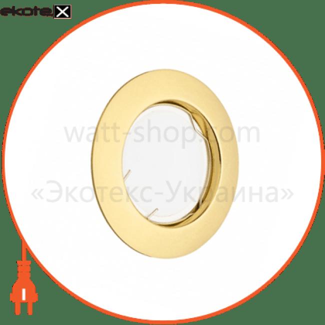 світильник точковий неповоротний delux hdl160011 g5.3 золото декоративные светильники Delux 90008195