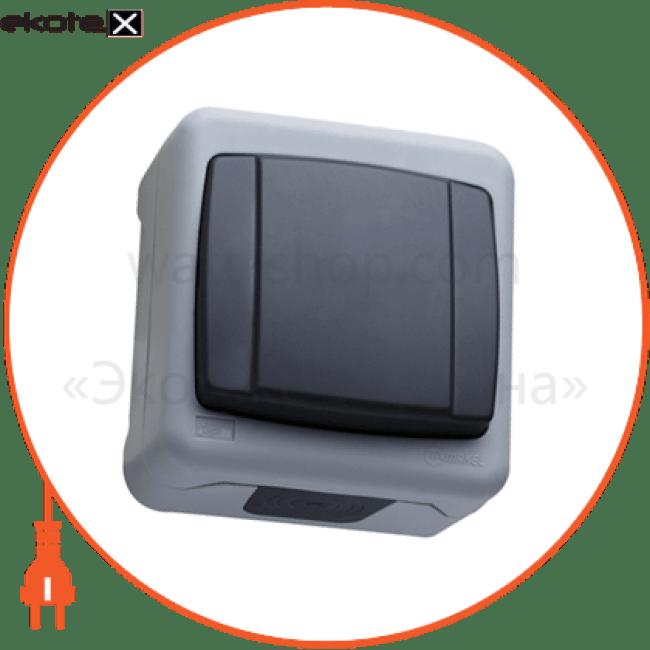 вимикач 1-клавішний выключатель Makel 36064001