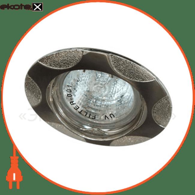 156т под mr-16 титан-серебро пл.поворотный/ nikelmat/silver