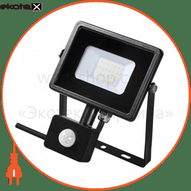 90008735 Delux светодиодные светильники delux світлодіодний прожектор delux fmi 10 s led 20вт 6500k ip44 з датч. руху