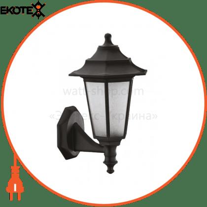 """Horoz Electric 400-010-117 светильник садово-парковый """"begonya-2"""" е27 черный"""