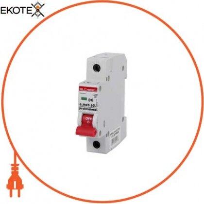Enext p0710006 модульный автоматический выключатель e.mcb.pro.60.1.d.6 , 1р, 6а, d, 6ка