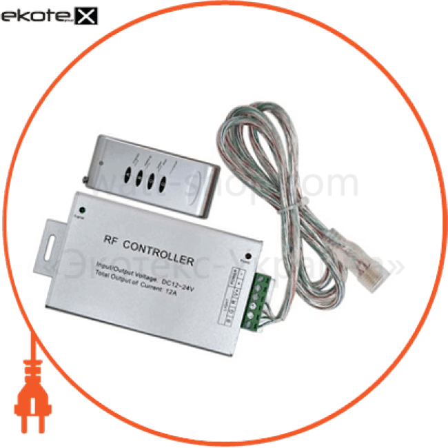 26225 Feron устройства управления контроллер feron для лент rgb ld10 26225