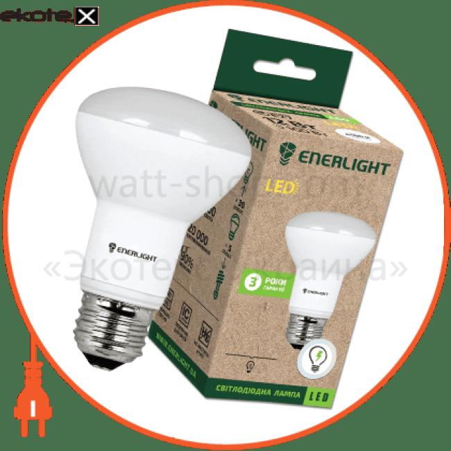 лампа світлодіодна enerlight r63 8вт 3000k e27 светодиодные лампы enerlight Enerlight R63E278SMDWFR