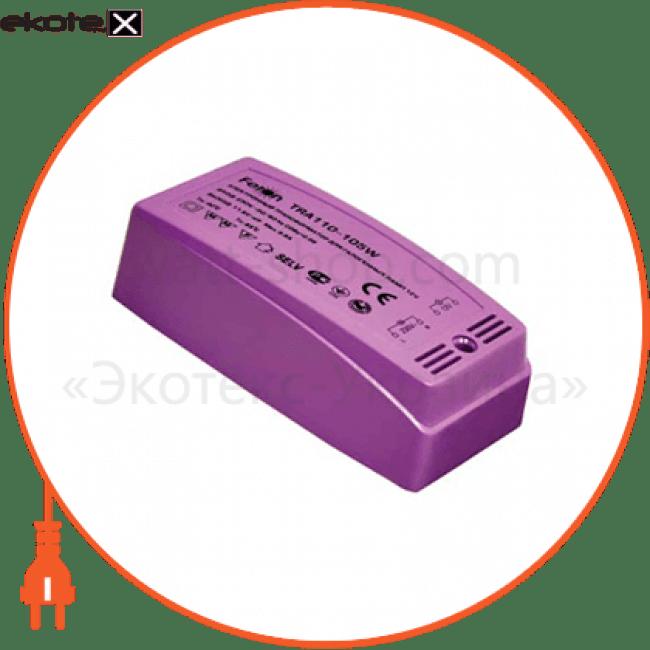 21482 Feron блоки питания трансформатор электр.пластик tra110 ферон 105w-new