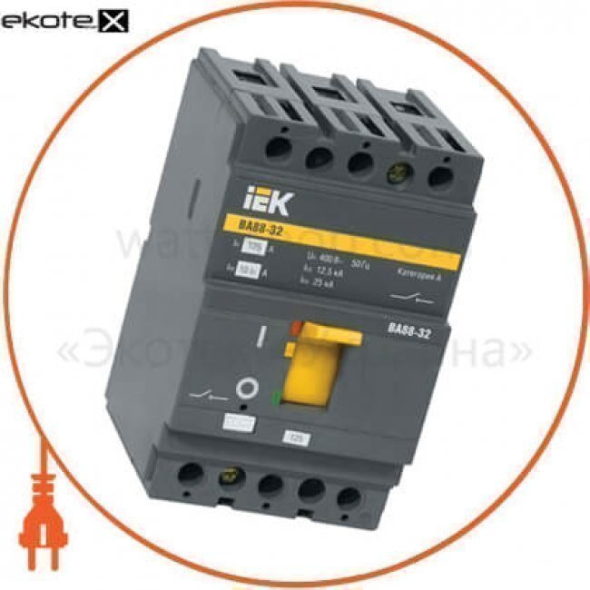 IEK SVA10-3-0125 авт. выкл. ва88-32 3р 125а 25ка iek