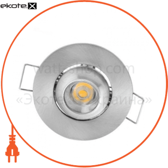 """светильник """"fiona"""" 1w  6400к, 2700к хром, мат.хром светодиодные светильники horoz eelectric Horoz Eelectric 016-028-0001"""