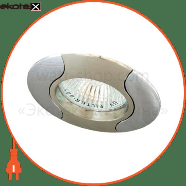 17671 Feron декоративные светильники 020 r-50 титан-хром / d/l e14 tn-cm