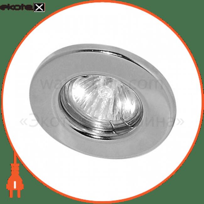 dl 10 хром под mr-16 неповоротный декоративные светильники Feron 15113
