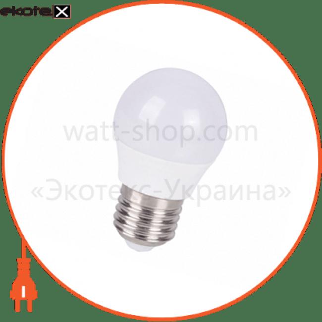 лампа світлодіодна delux bl50p 5 вт 4100k 220в e27 білий светодиодные лампы delux Delux 90002761