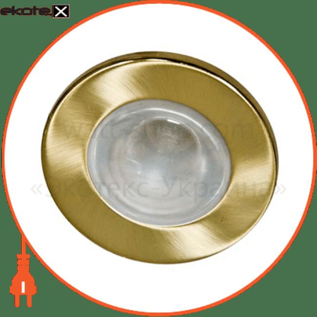 встраиваемый светильник feron 2746 матовое золото 14036 декоративные светильники Feron 14036