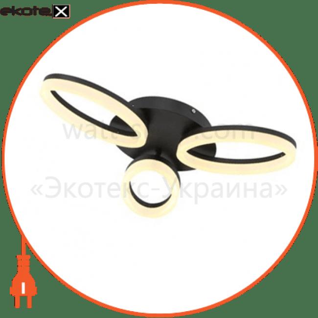 Horoz Electric 019-005-0024 люстра smd led 24w черная 4000k 1680lm 220-240v