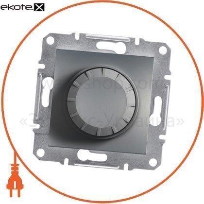 Asfora Светорегулятор поворотный/315RC/двунаправленный (MTN5136-0000), без рамки, стальной