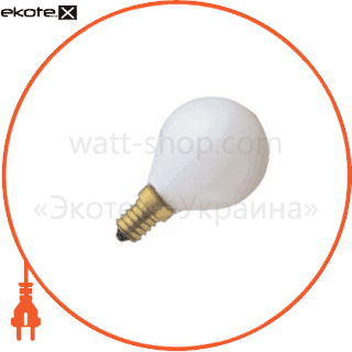 лампа накаливания шарик  clas p fr 60 w e14 лампы накаливания osram Osram