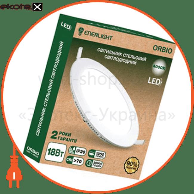 cвітильнік стельовий світлодіодний enerlight orbio 18вт 4000к светодиодные светильники enerlight Enerlight ORBIO18SMD75N