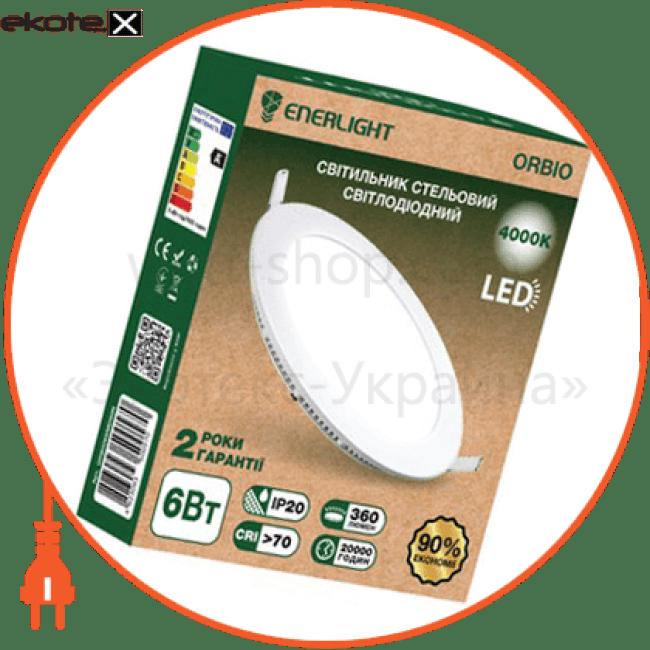 cвітильнік стельовий світлодіодний enerlight orbio 6вт 4000к светодиодные светильники enerlight Enerlight ORBIO6SMD60N