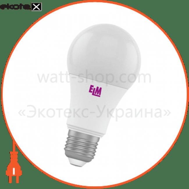 b60 15w pa10l e27 3000 светодиодные лампы electrum ELM 18-0097