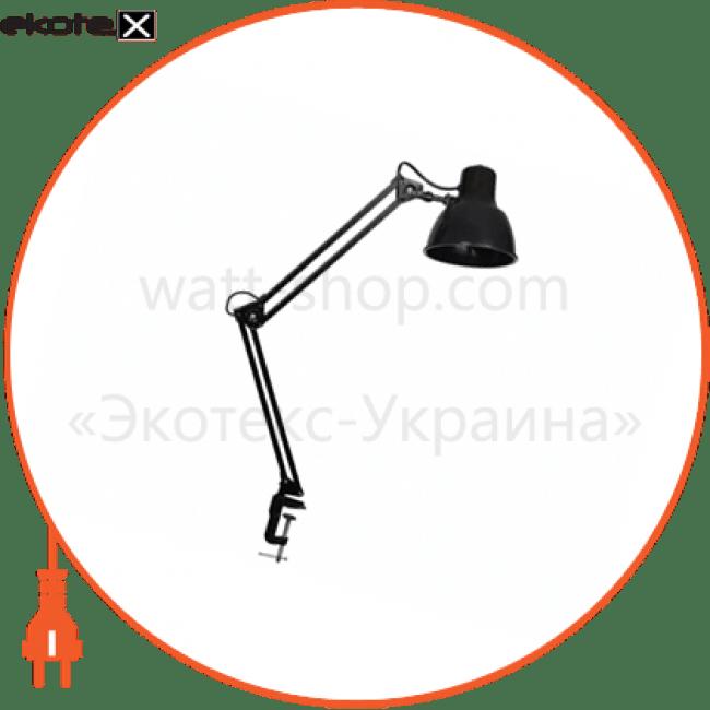світильник настільний delux tf-06 60вт e27 чорний промышленные светильники delux Delux 10052501