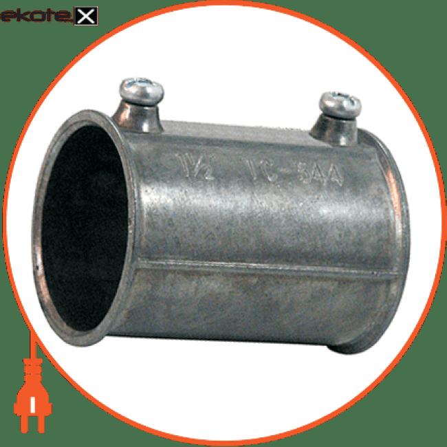 "i0440006 Enext трубы металлические и аксессуары з'єднувач металевий e.industrial.pipe.connect.screw.2"", на гвинтах"