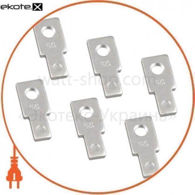 IEK SVA10D-N-3 наконечники для ва88-32 125а 3р(комплект 6шт) iek