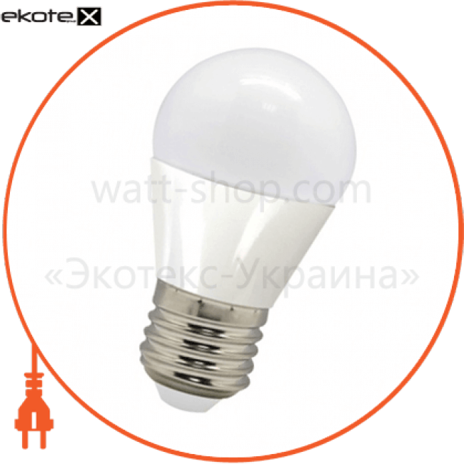лампа свiтлодiодна lb-95 g45 230v 5w e27 2700k светодиодные лампы feron Feron 25557