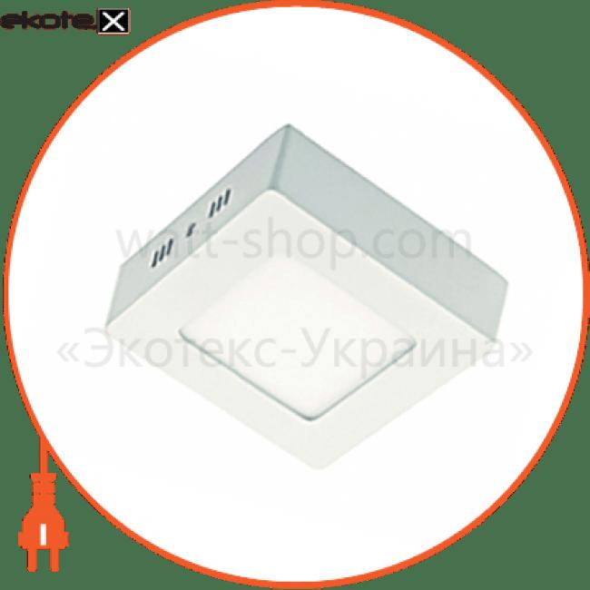 90006819 Delux светодиодные светильники delux світильник світлодіодний стельовий delux cfq led 10 4100к 24вт 220в квадрат