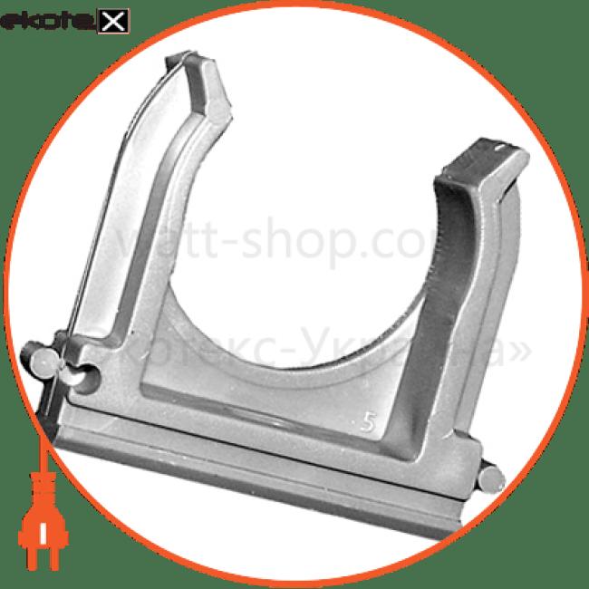 хомут-клипса e.g.tube.clip.stand.20 для гофротрубы д.20 трубы гофрированные и аксессуары Enext s028009