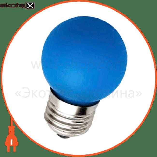 lb-37 g45 230v 1w e27 синяя светодиодные лампы feron Feron 25118