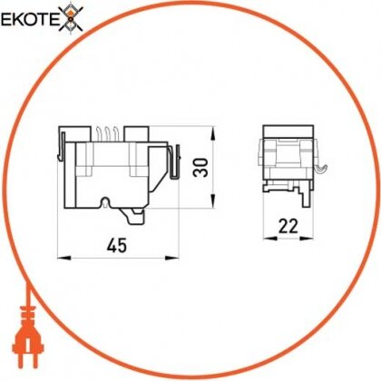 Enext i0020002 дополнительный сигнальный контакт e.industrial.ukm.100.b