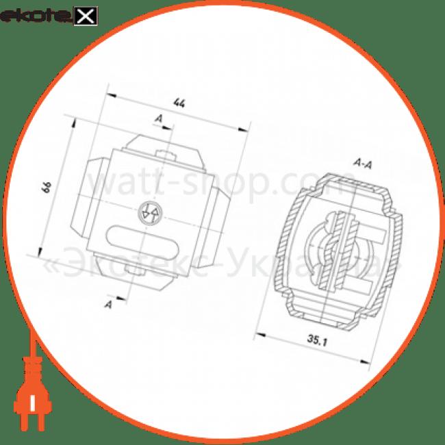 у-731 Enext арматура для сип сжим відгалужувальний у731