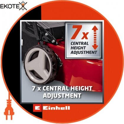 Einhell 3400727 газонокосилка бензиновая самоходная gc-pm 46/3 s