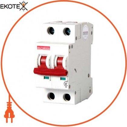 Enext i0190005 модульный автоматический выключатель e.industrial.mcb.100.1n.c25, 1р+n, 25а, с, 10ка