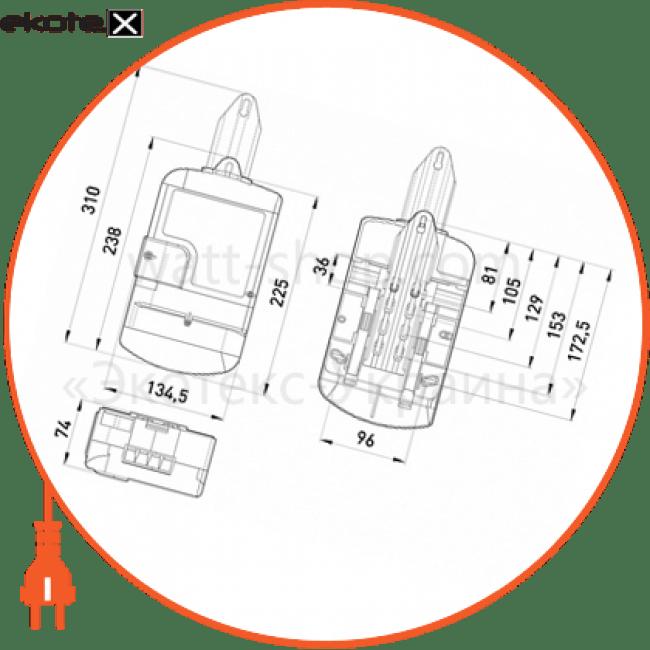Однофазный счетчик НІК 2104-02.02 Р 1,0 220В (5-60)А
