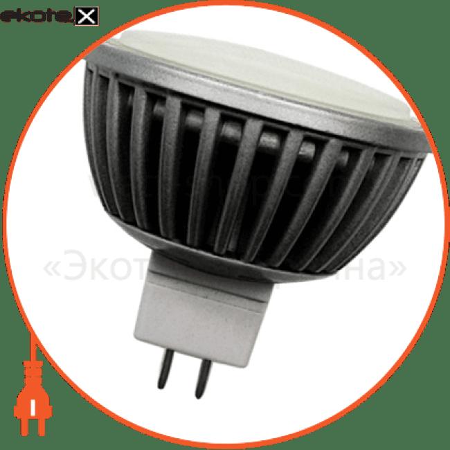 лампа світлодіодна e.save.led.mr16f.g5,3.4.2700, під патрон g5,3, 4вт, 2700к светодиодные лампы enext Enext l0650407