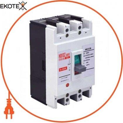 Horoz Eelectric 114-004-3063 шкафной автоматический выключатель safe 63а 3p с